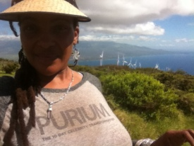 Lae'ula O Kai panting koa at windmills